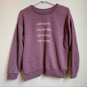 Atmosphere soft and cozy sweatshirt size 6